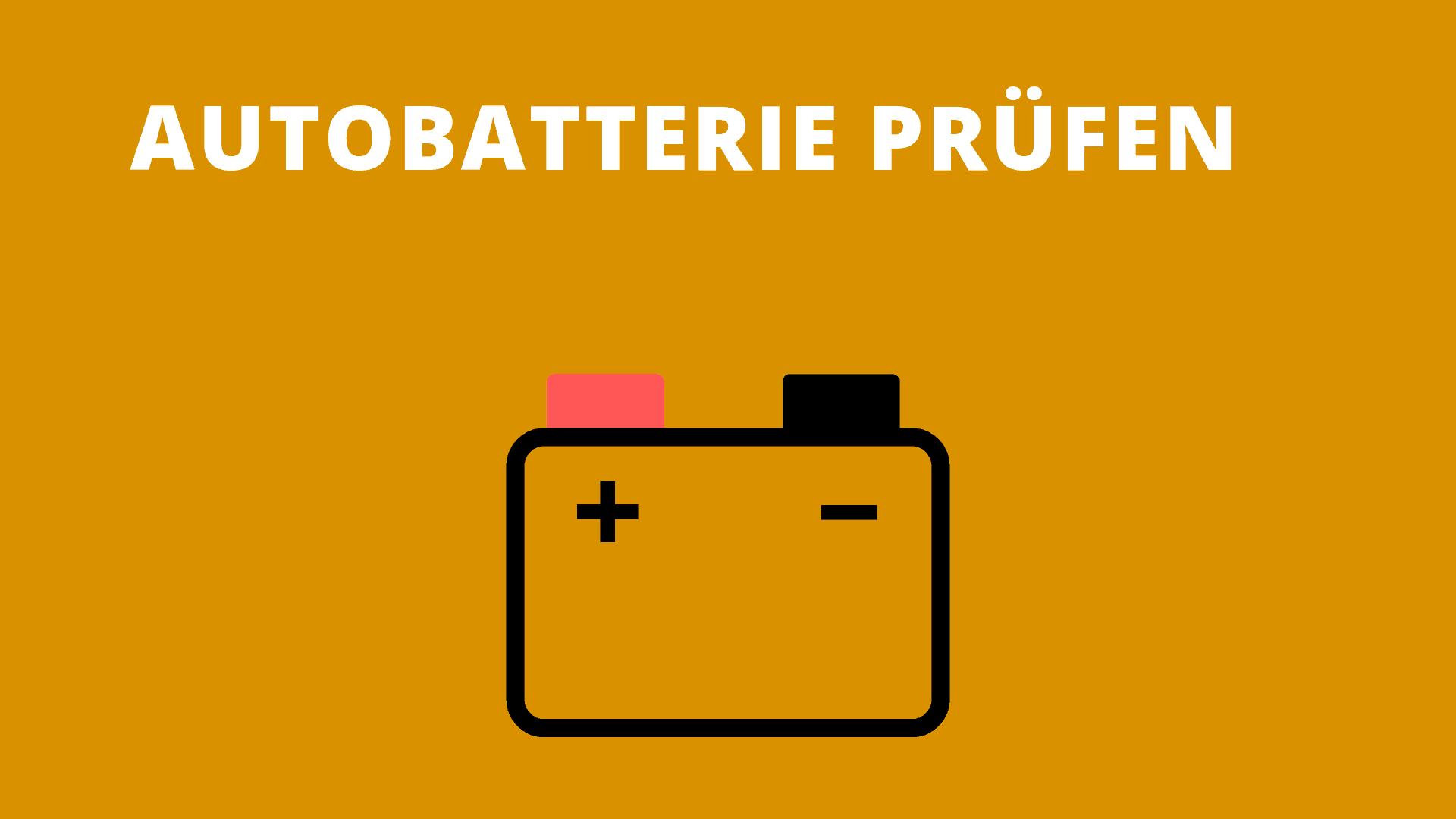 Autobatterie prüfen: Spannung mit Multimeter messen