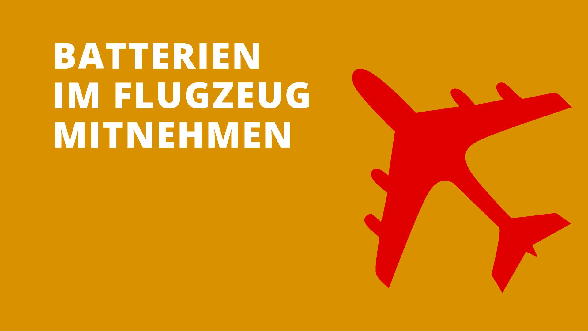 Batterien Im Flugzeug Was Ist Im Handgepack Und Koffer Erlaubt