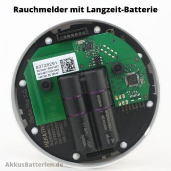 Profi-Rauchmelder mit Langzeit-Batterie