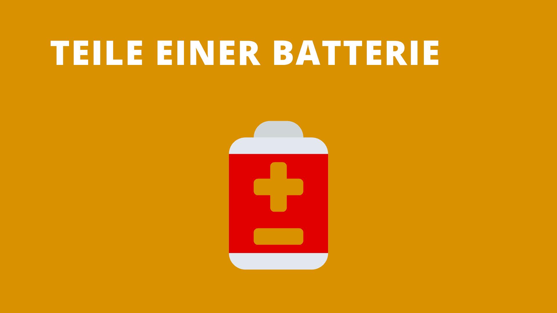 Teil einer Batterie: Mit 5, 7, 8 und 9 Buchstaben